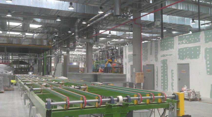 Relokacja (przenoszenie) linii produkcyjnych i technologicznych