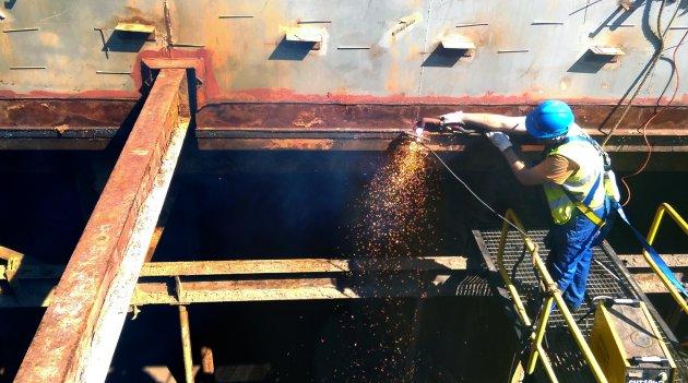 Montaż i demontaż konstrukcji stalowych - rozbiórki